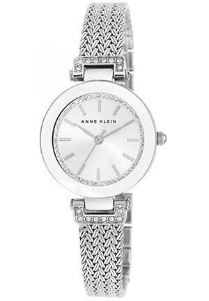 Anne Klein Women's Mesh Bracelet Watch 30mm