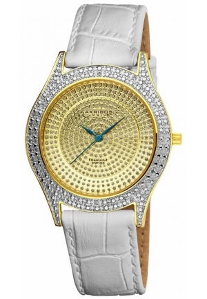 Akribos XXIV Brillianaire Ladies Watch