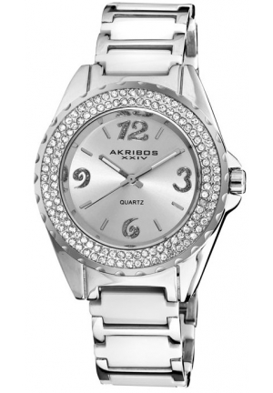 Akribos XXIV Ceramic Ladies Watch AK514WT