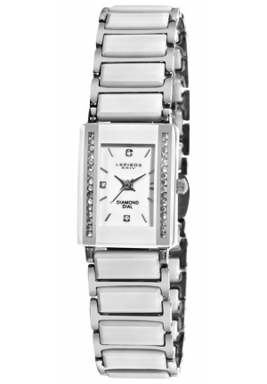 Akribos XXIV Ceramic Ladies Watch AK522SS