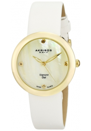 Akribos XXIV Yellow Ladies Watch
