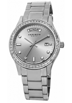 Akribos XXIV Silver-tone Ladies Watch AK691SS