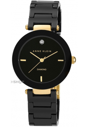 ANNE KLEIN LADIES' CERAMIC WATCH 33mm