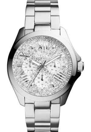 FOSSIL WOMEN'S CECILE STAINLESS STEEL BRACELET WATCH 40MM