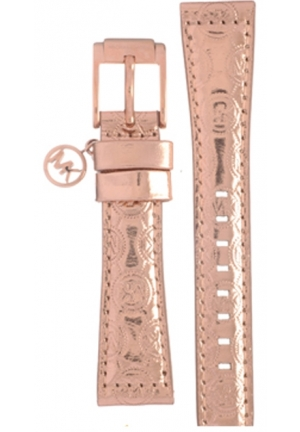 Michael Kors Strap MK2254 Taylor Strap Rose Gold Leather Strap 18mm