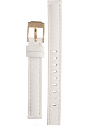 Michael Kors Strap MK2273 Runway Slim Strap White leather strap 12mm