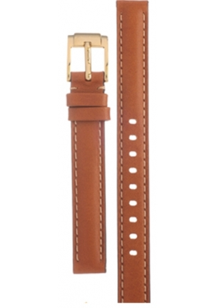 Michael Kors Strap MK2326 Runway Slim Strap Brown Leather Strap 12mm
