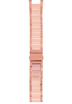 Michael Kors Strap MK5896 Parker Strap Rose Gold Coated Steel Bracelet 20mm