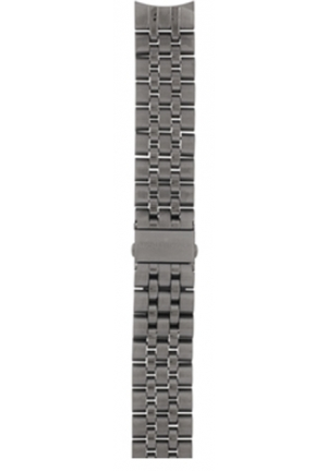 Michael Kors Strap MK8274 Scout Strap Gunmetal Coated Steel Bracelet 22mm