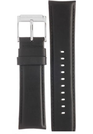 MICHAEL KORS Michael Kors Strap MK8288 Mercer Big Strap Black Leather Strap 24mm