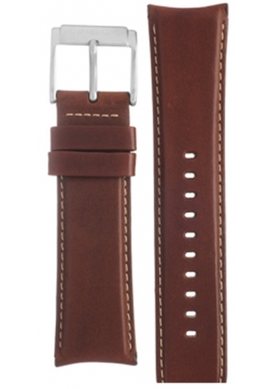 MICHAEL KORS Michael Kors Strap MK8292 Mercer Big Strap Brown Leather Strap 24mm