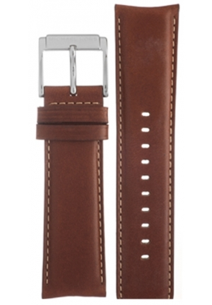 Michael Kors Strap MK8294 Dean Strap Brown Leather Strap 24mm