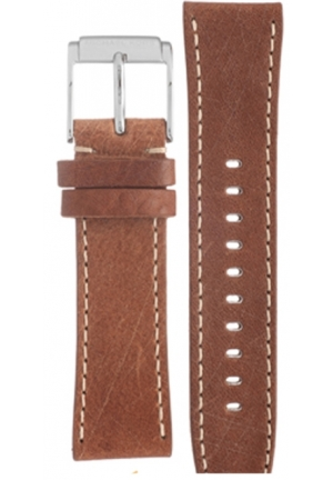 Michael Kors Strap MK8309 Scout Strap Brown Leather Strap 22mm
