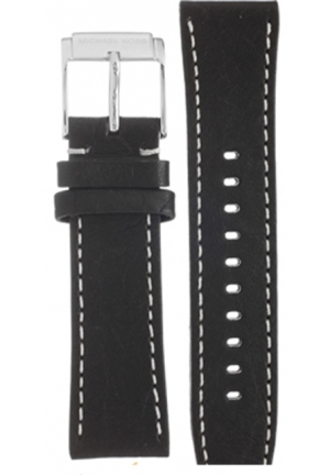 Michael Kors Strap MK8310 Scout Strap Black Leather Strap 22mm