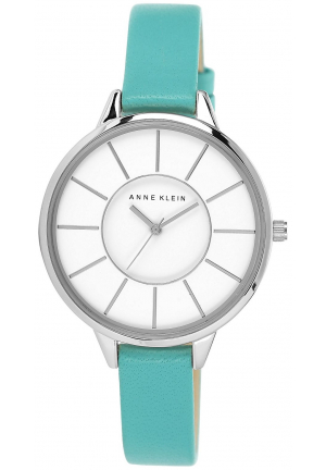 ANNE KLEIN WOMEN LEATHER WATCH 38MM
