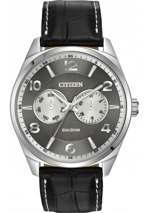 CITIZEN Eco-Drive Stainless Steel Bracelet Watch 42mm