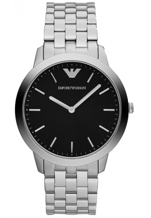EMPORIO ARMANI Men's Dino Slim Stainless Steel Bracelet 42mm