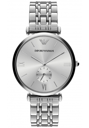 EMPORIO ARMANI Unisex Stainless Steel Bracelet Watch 40mm