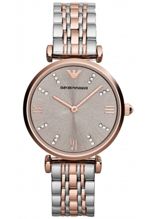 EMPORIO ARMANI Women's Two-Tone Stainless Steel Bracelet Watch 31mm