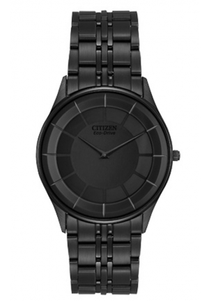 Citizen Men's Eco-Drive Stiletto Black Dress Watch