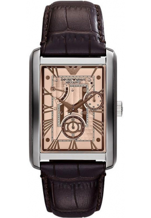 MECCANICO BRONZE DIAL AUTOMATIC MEN'S WATCH