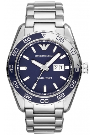 EMPORIO ARMANI Men's Stainless Steel Bracelet Watch 46mm