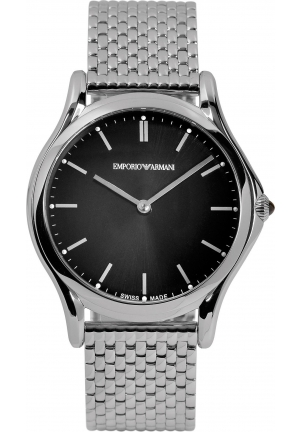 Emporio Armani Unisex Swiss Stainless Steel Bracelet Watch 36mm