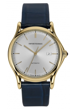 Emporio Armani  Men's Swiss Automatic Blue Watch