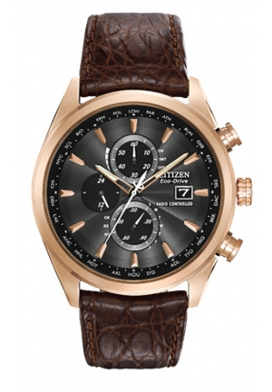 Citizen Men's Eco-Drive Limited Edition World Chronograph Dress Watch