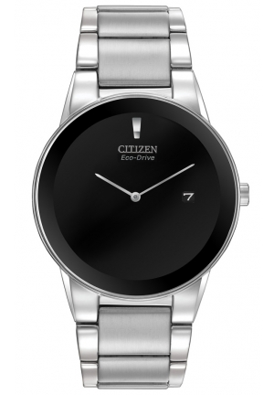 Citizen Men's Axiom Silver-Tone Stainless Steel Watch