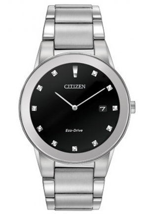 Citizen Men's Axiom Analog Display Japanese Quartz Silver Watch