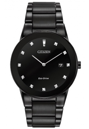 Citizen Men's Axiom Analog Display Japanese Quartz Black Watch