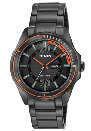 Citizen Men's Drive from Citizen HTM Analog Display Japanese Quartz Black Watch