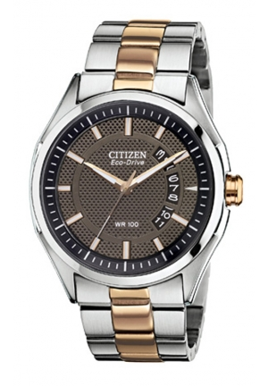 CITIZEN Eco-Drive HTM 2.0 Two Tone Rose Gold Watch 40mm