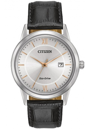 Citizen Men's Stainless Steel Watch with Black Band