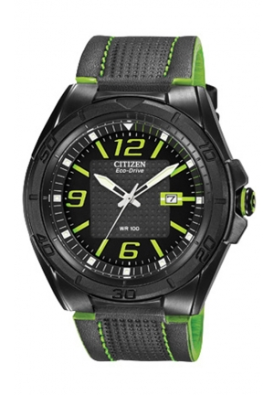 Citizen Men's Drive From Citizen Eco-Drive BRT Analog Display Japanese Quartz Black Watch