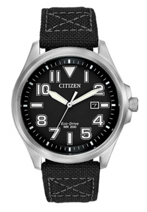 CITIZEN Sport Analog Display Japanese Quartz Black Watch44mm