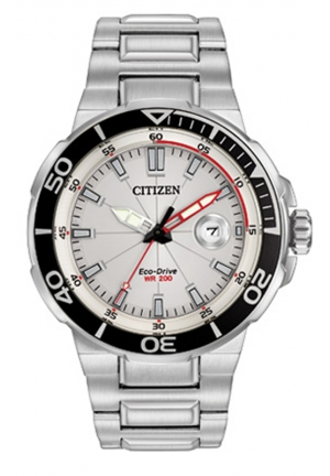 Citizen Men's Endeavor Analog Display Japanese Quartz Silver Watch