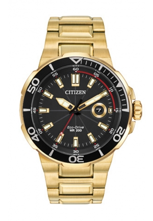 Citizen Men's Endeavor Analog Display Japanese Quartz Gold Watch