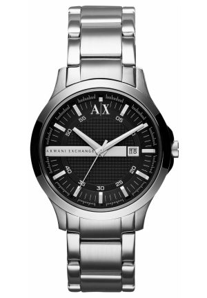 A|X Armani Exchange Watch, Men's Stainless Steel Bracelet 40mm