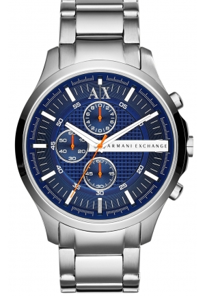 ARMANI EXCHANGE Blue Dial Chronograph Men's Watch 45mm