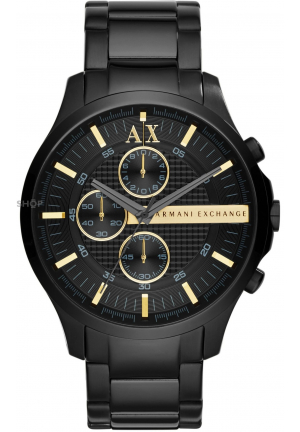 ARMANI EXCHANGE Chronograph Black Dial Men's Watch