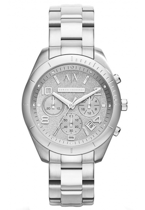 A|X ARMANI EXCHANGE Women's Chronograph Stainless Steel Bracelet Watch 40MM