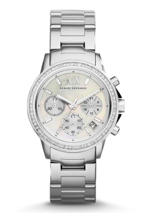 A|X ARMANI EXCHANGE Chronograph Stainless Steel Bracelet Watch 35mm