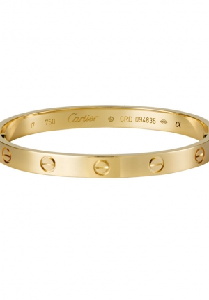 LOVE BRACELET YELLOW GOLD B6035517