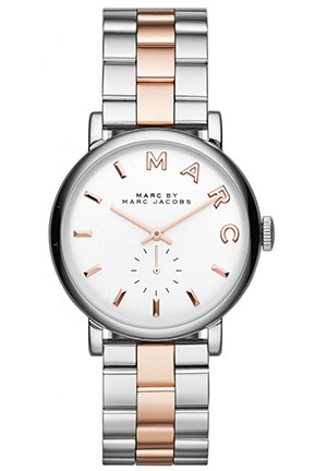 Baker Two Tone Watch, 36.5mm MBM3312