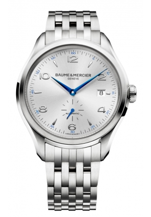 BAUME & MERCIER Clifton Silver Dial Sainless Steel Automatic Mens Watch 41MM
