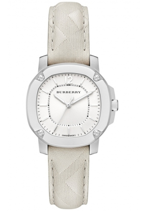 Women's Swiss The Britain Stone Leather Strap Watch 34mm