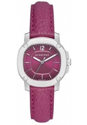 Burberry Women's The Britain Leather Strap Watch