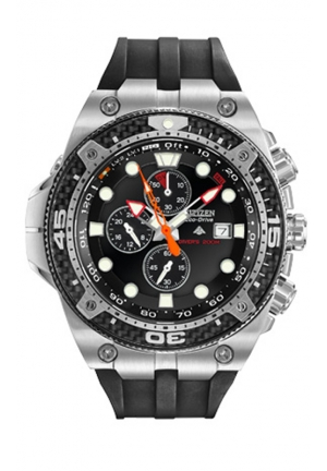 Citizen Men's Promaster Stainless Steel Eco-Drive Dive Watch